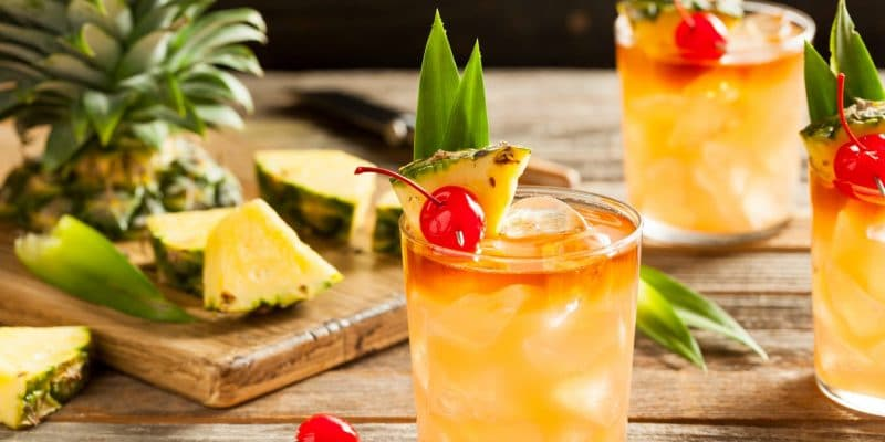 Mai Tai Cocktail All Inclusive Resort