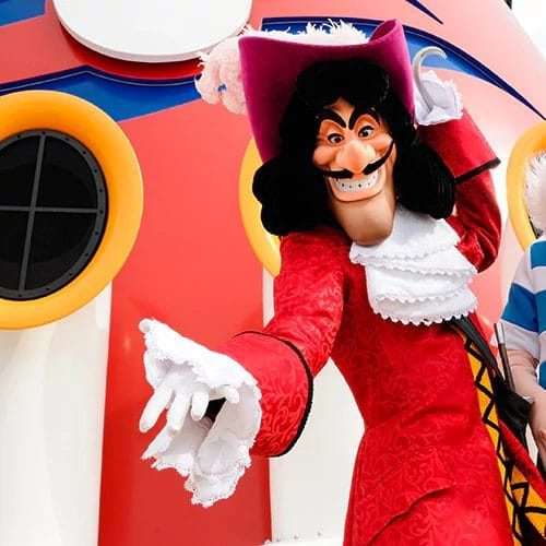 Disney Character Meet Captain Hook and Smee