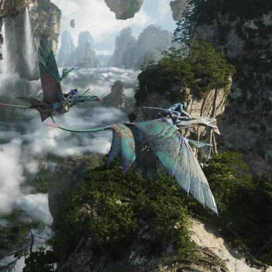 Disney Animal Kingdom Avatar Pandora Flight of Passage