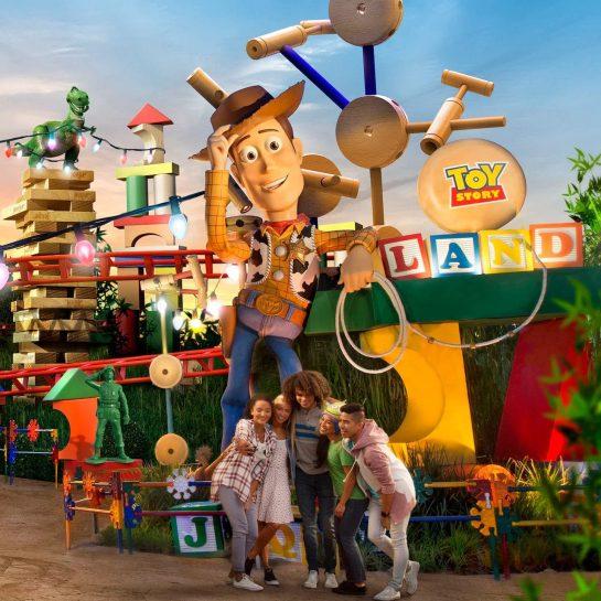 Disney Hollywood Studios Toy Story Land Woody
