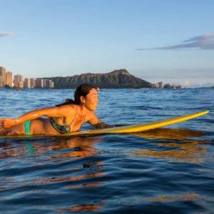 Hawaii Surfing ocean