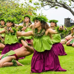 Hawaii Polnesian Dance