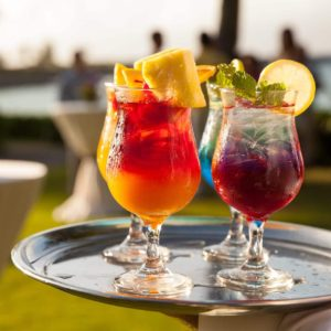 Hawaii Luxury Vacation Drinks