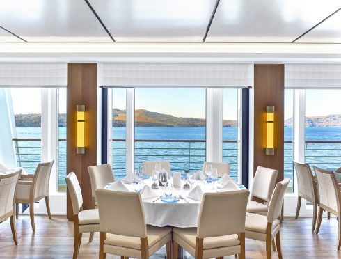 Viking Ocean Cruise Restaurant Dining Viking Sea Luxury Vacation
