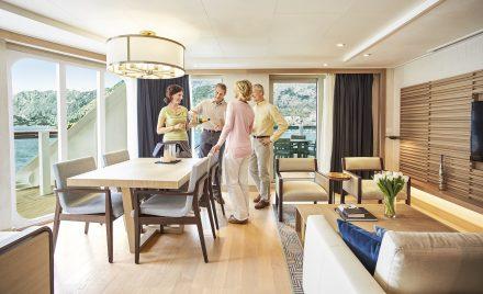 Viking Ocean Cruise Explorer's Suite Stateroom Luxury Vacation
