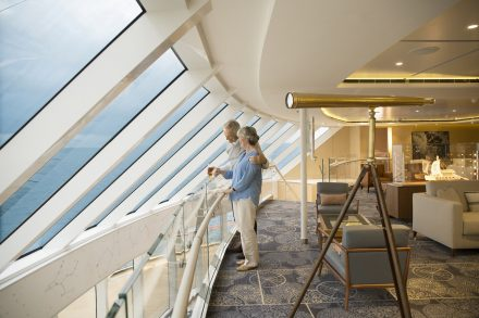 Viking Ocean Cruise Explorer's Lounge Luxury Vacation