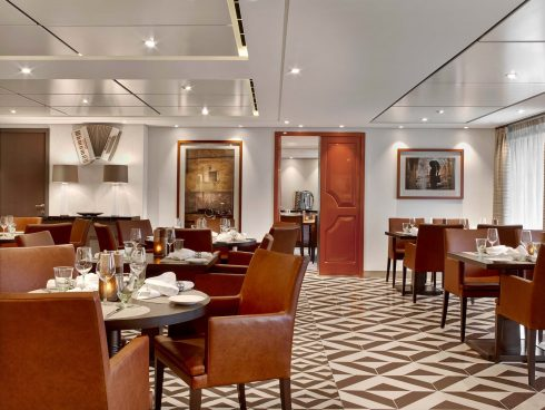 Viking Ocean Cruise Manfredi's Italian Restaurant Luxury Vacation