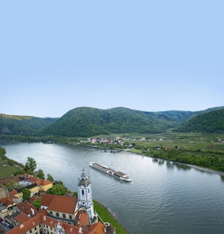 Viking River Cruise Njord Durnstein Danube River Luxury Vacation