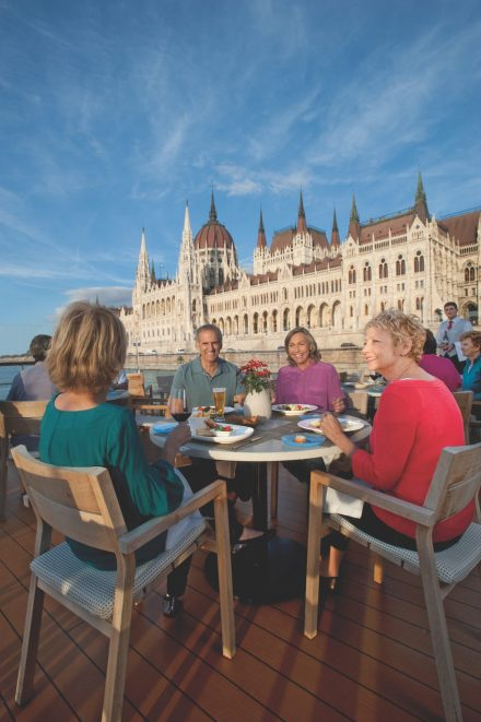 Viking River Cruise Luxury Vacation Dining Terrace