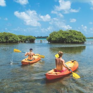 Antigua Kayaking Couple Romantic Adventure