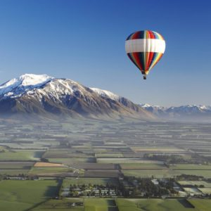 Canterbury Plains Canterbury Hot Air Balloon Rides