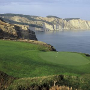 Golf Course Green Coast Cape Kidnappers Hawke's Bay Cape Kidnappers