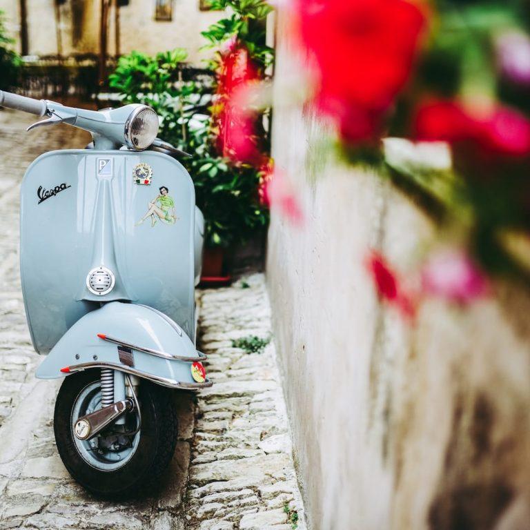 Vespa Erice, Italy
