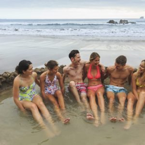 Friends Fun Hot Water Beach Coromandel