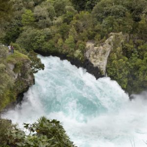 Huka Falls Great Lake Taupo