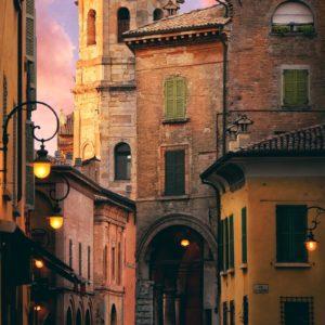 Piazza Antonio Fontanesi, Reggio Emilia, Italy