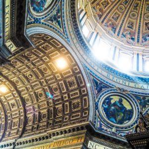 St. Peter's Basilica, Città del Vaticano, Vatican City ceiling