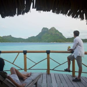 Tahiti Bora Bora Overwater Bungalow Views Luxury Vacation