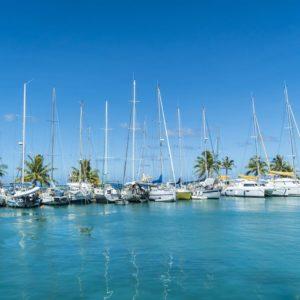 Tahiti raiatea sailboats ocean docks