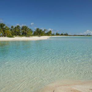 Tahiti tikehau island blue tahitian waters ocean