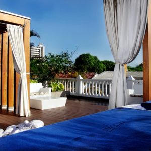 Terrace Romantic Vacation
