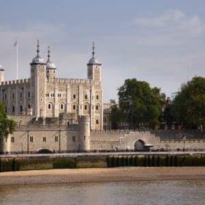The Tower of London River Thames The White tower