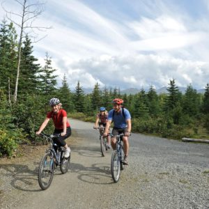 Alaska Luxury Vacation Anchorage Cycling Bike