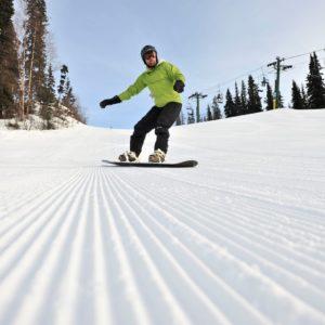 Alaska Luxury Vacation Anchorage Snowboard