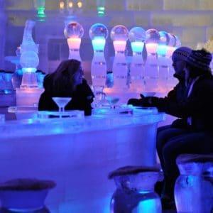 Alaska Luxury Vacation Chena Ice Bar Museum