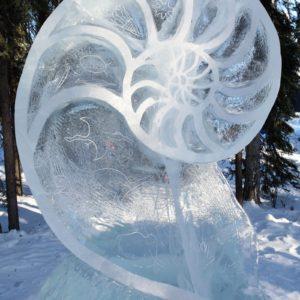 Alaska Luxury Vacation Fairbanks Ice Sculpture Fibonacci Sequence