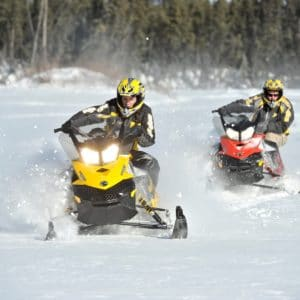 Alaska Luxury Vacation Fairbanks Snowmobile