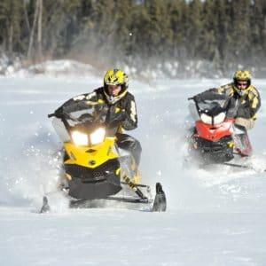Alaska Luxury Vacation Fairbanks Snowmobile