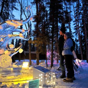 Alaska Luxury Vacation Fairbanks World Ice Scupture Championships