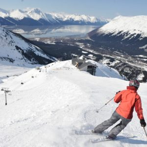Alaska Luxury Vacation Girdwood Downhill Skiing