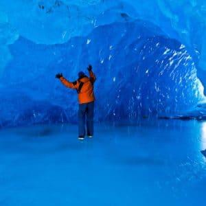Alaska Luxury Vacation Juneau Ice Room