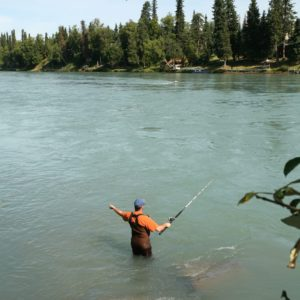 Alaska Luxury Vacation Kenai Fishing Waders