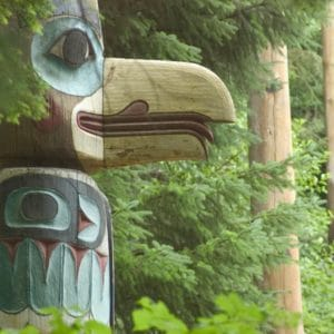 Alaska Luxury Vacation Ketchikan Totem Bird Beak