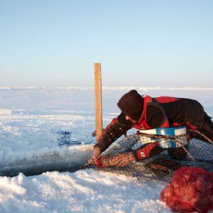 Alaska Luxury Vacation Nome Ice Fishing