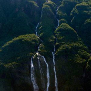 Alaska Luxury Vacation Prince William Sound Waterfalls Green Mountains