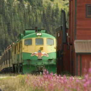 Alaska Luxury Vacation Skagway Train Eagle