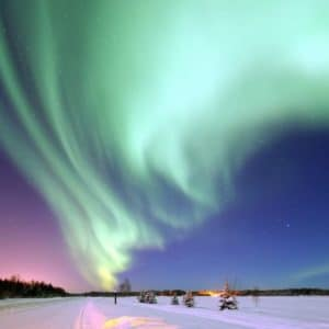 Aurora Borealis Alaska Space Magical Night Alaskan Luxury Vacation