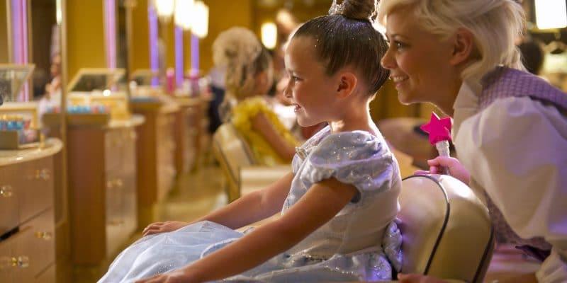 Bibbidi Bobbidi Boutique Magic Kingdome Little Girl Princess Reveal