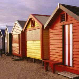 Brighton Beach Melbourne Vic Luxury Australia Vacation
