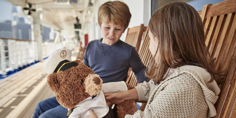Children Crusie Stuffed Animal Bear