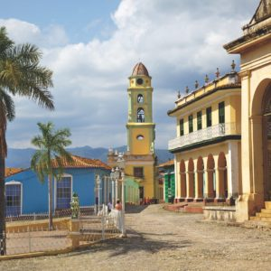 Cuba Luxury Vacation Church Town Square Trinidad