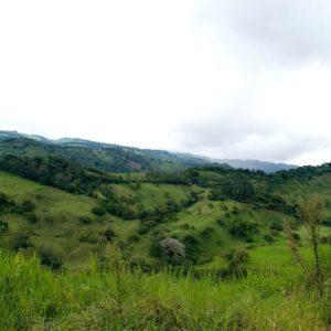 Costa Rica Landscape Nature Outside Sky Clouds
