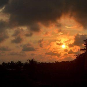 Costa Rica Sunset Sky Nature Costa Landscape Rica
