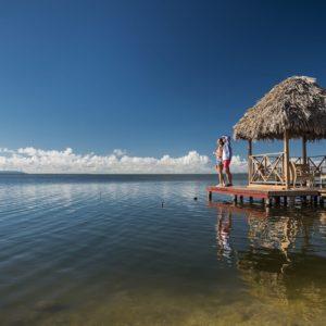 Cuba Luxury Vacation Couple In The Lagoon Santa Lucia