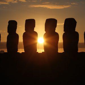 Easter Island Chile Sunrise