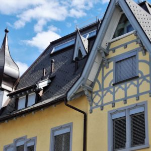 Europe Luxury Switzerland Vacation Architecture House The Roof Of The Building Turret